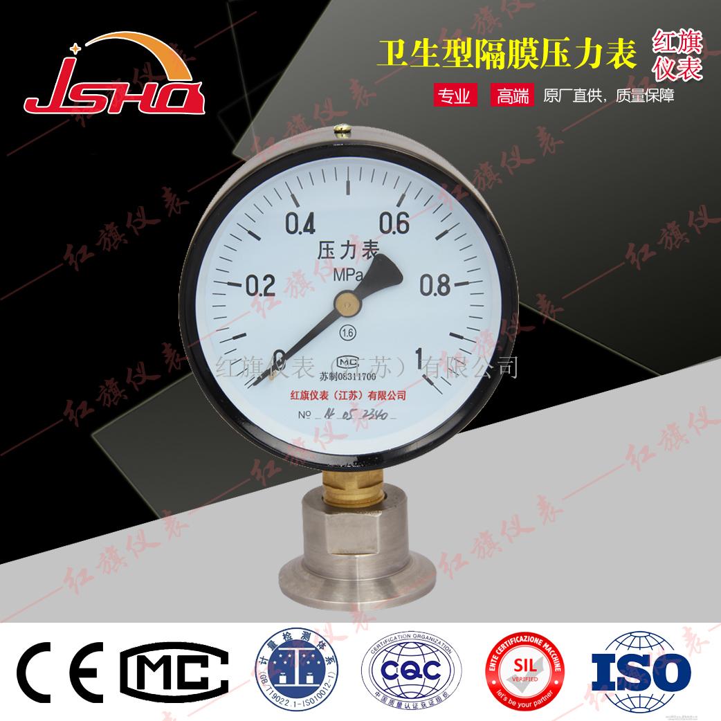 卡箍式卫生型隔膜压力表